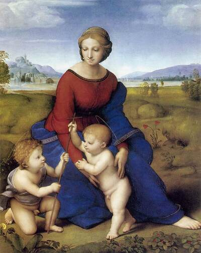formal analysis madonna del prato essay Whit the virgin of the rocks and its pyramidal composition that groups the figures and coordinates their communicative exchanges as in the madonna del prato.