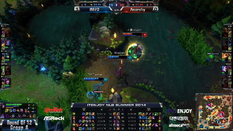 ITENJOY NLB 12강 A조 진출전 Anarchy vs IM#2 2경기 #2