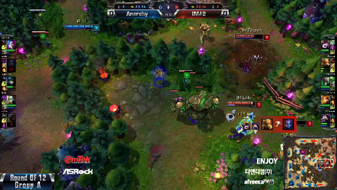 ITENJOY NLB 12강 A조 진출전 Anarchy vs IM#2 1경기 #2