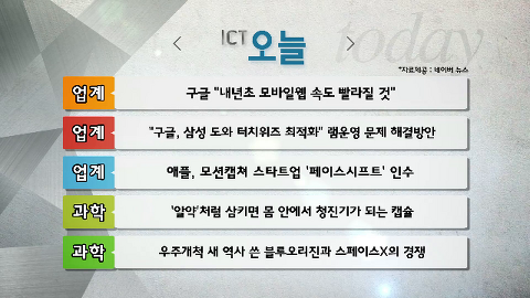 구글 '내년초 모바일웹 속도 빨라질 것'_11월 26일(목)